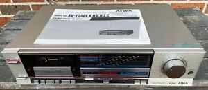 VINTAGE AIWA STEREO CASSETTE DECK # F250 with DOLBY NR TYPE C & OWNER MANUAL!