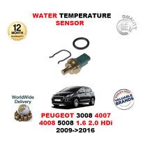 pour Peugeot 3008 4007 4008 5008 1.6 2.0 HDI 2009>2016 Capteur température eau