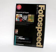 Fotospeed Platinum Gloss Art Fibre 300 A3 25 Sheets