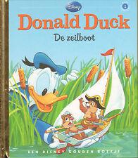 DONALD DUCK - DE ZEILBOOT - EEN DISNEY GOUDEN BOEKJE (2012)