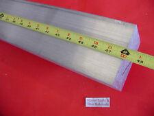 "3"" X 4"" ALUMINUM 6061 FLAT BAR 48"" long SOLID T6511 3.000"" Plate Mill Stock"