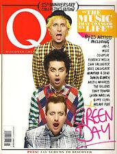 Q Magazine UK 304 November 2011 25th Anniversary Collector's Edition GREEN DAY