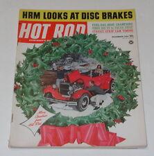 HOT ROD Magazine Vol 17 #12 Dec 1964 Fuel-Gas Boat Champions Ford 289 V8 X7