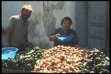 047141 Vegetable Vendors In Afyon A4 Photo Print