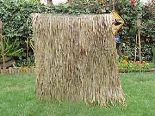 12-TIKI BAR PALAPA PALM GRASS 4'X4' THATCH PANELS FRESH