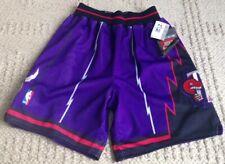 New NIKE AUTHENTIC 1998-1999 Toronto Raptors NBA Team Shorts Sewn Size 32 RARE