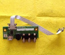 "SIDE AV INPUT BOARD 3139 123 62951 V2 WK718.5 For PHILIPS 32PFL7782D/05 32"" TV"