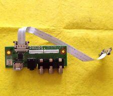 """SIDE AV INPUT BOARD 3139 123 62951 V2 WK718.5 For PHILIPS 32PFL7782D/05 32"""" TV"""