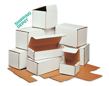 Pick Size Amp Pack White Corrugated Mailers Strong Folding Boxes Crush Resistant