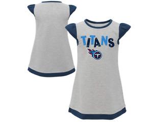 Outerstuff NFL Toddler Girls Tennessee Titans First & Ten Cap Sleeve Dress