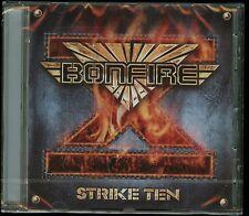 Bonfire Strike Ten CD new