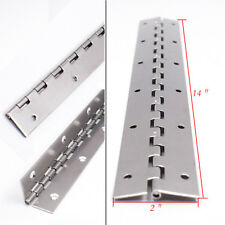 "1 Piece Stainless Steel 14 ""X 2"" Boat Piano Hinge Hot Sale"