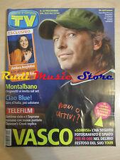 rivista TV SORRISI CANZONI 26/2005 POSTER Vasco Rossi Blue Iva Znicchi NO cd