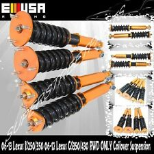 Coilover Suspension Lowering Kits for 06-13 Lexus IS250 GS IS350 GS430 RWD ONLY