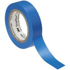10x 3M Temflex 1500 PVC -elektroisolierband, Bleu B : 15 MM X LONGUEUR : 25 M