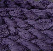 Pure wool  yarn, fingering weight,   eggplant,  1,100 yards, 9oz.