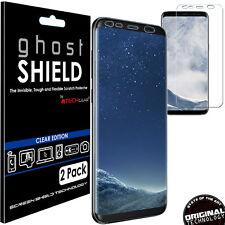 2x TECHGEAR (TPU) FULL COVERAGE Screen Protectors Cover for Samsung Galaxy S8