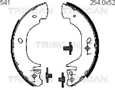 Bremsbackensatz für Bremsanlage Hinterachse TRISCAN 8100 16541