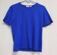 Chico's Woman's Short Sleeve Blue Tee Size 1