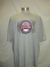 Montreal Canadiens Men 3X Majestic Blue Big and Tall Shirt  NHL A15M