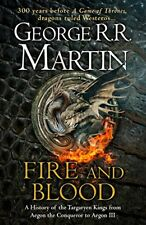 Fire and Blood by George R.R. Martin - A Song of Ice and Fire Book - Hardback