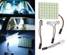 Pure White 48 SMD 5050 Car LED Light Lamp Bulb Panel T10 Festoon Dome BA9S 12V