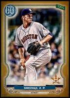 Zack Greinke 2020 Topps Gypsy Queen 5x7 Gold #7 /10 Astros