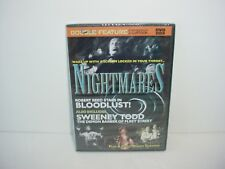 Nightmares Bloodlust and Sweeney Todd DVD Movie