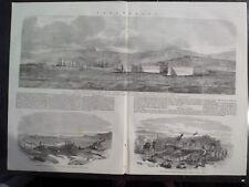 Sevastopol Black Sea Port Crimean Peninsula Ukraine 1854 Illustrated London #2