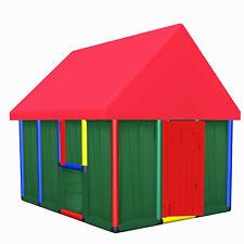 Moveandstic Spielhaus für Kinder Kinderspielhaus Garten Kinderhaus Gartenhaus