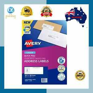 Avery Label L7163 Laser 14up 99.1x38.1mm Box of 20 Sheets**Free Shipping