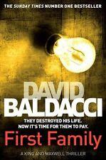 David Baldacci __ First Family__B Format __ abîmé par l'exposition en magasin __