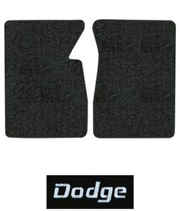 1974 Dodge D200 Pickup Floor Mats - 2pc - Cutpile