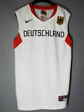 GERMANY DEUTSCHLAND 2008 OLYMPIC GAMES NATIONAL TEAM BASKETBALL JERSEY NIKE