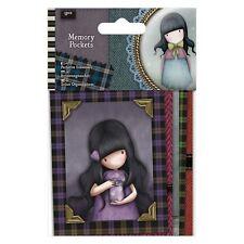 Do-crafts tasche memoria (5PCS) - SANTORO Tweed per le schede o Crafts