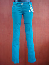 RIVER ISLAND SEXY BOOTLEG GREEN COLOUR JEANS SIZE 10