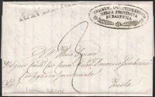 ITALY, 1848. Folded Letter Municipal, Ravenna - Imola