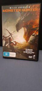 MONSTER HUNTER - DVD - NEW  RELEASE - REGION 4 -  $16