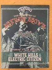 Crazy World Arthur Brown ZimZamZim 2017 tour La Regent Theater handbill