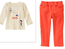 GYMBOREE Dog Two  Piece Long Sleeve top Pants Outfit NWT SIZE 18-24  MONTHS