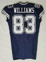 #83 Terrance Williams of Dallas Cowboys NFL Locker Room Game Issued Jersey