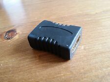 ADAPTATEUR RACCORD HDMI FEMELLE / FEMELLE LCD TFT ECRAN VIDEO TV PC PLASMA 3D