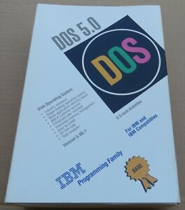 IBM  DOS OPERATING SYSTEM 5.0 USERS GUIDE /REFERENCE/ GETTING STARTED NO DISKS