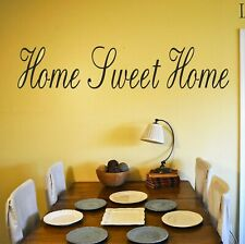 Home Sweet Home Wall art Decal Sticker  Home Decoration