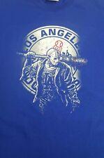 New dodgers / Jason blue T-  Shirt  size large