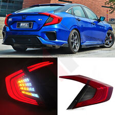 Tail Lights For Honda Civic 2016-2017 Led Rear Lights Lamp Assembly Taillight