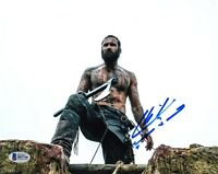 CLIVE STANDEN SIGNED AUTOGRAPHED 8x10 PHOTO ROLLO VIKINGS BECKETT BAS