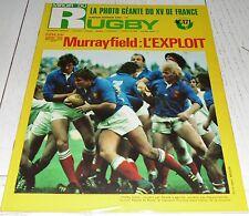 MIROIR RUGBY N°171 1976 TOURNOI V NATIONS SCOTLAND-FRANCE LOURDES MONTFERRAND
