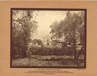 Antique San Diego Mission Alta California Harold Taylor Photo Gravure Print