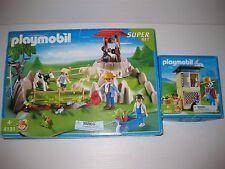 Playmobil 4131 4491 COUNTRY LIFE Farm, Animals,  Garden, Wishing Well, Tool LOT